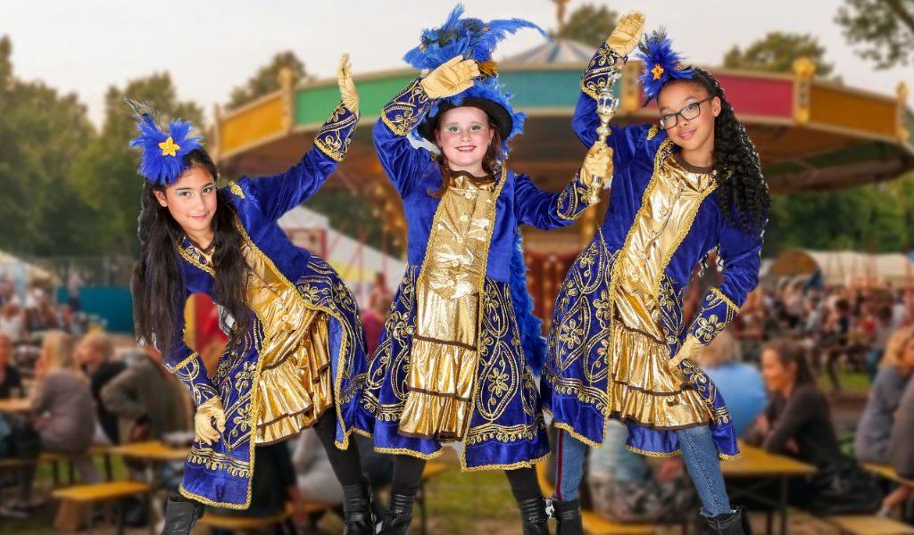 Jeugdprinses Roomske, Hofdames: Rawa Abdulghani en Layna Peterson